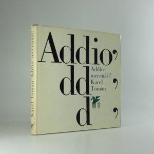 náhled knihy - Addio' mecenáši!