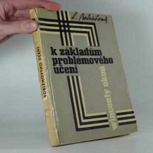 náhled knihy - K základům problémového učení
