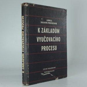 náhled knihy - K základům vyučovacího procesu