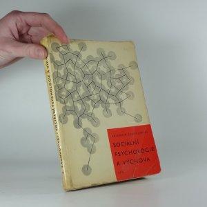 náhled knihy - Sociální psychologie a výchova