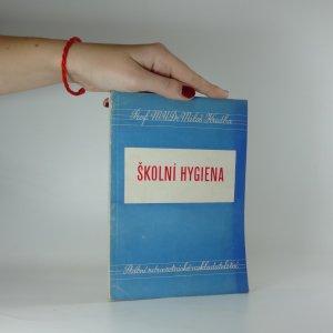 náhled knihy - Školní hygiena