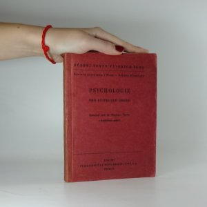 náhled knihy - Psychologie (pro učitelské obory)