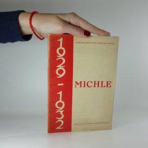náhled knihy - Michle 1929-1932. Pokusná reformní obecná škola.