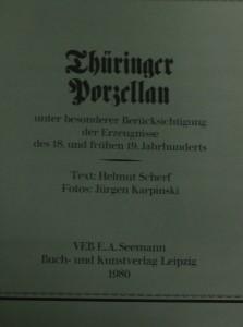 antikvární kniha Thüringer dorgellan, 1980