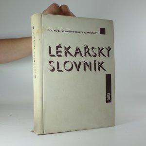 náhled knihy - Lékařský slovník