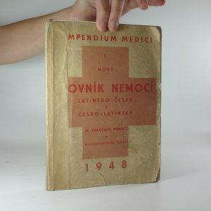 náhled knihy - Compendium Medici I. - Nový slovník nemocí: latinsko-český a česko-latinský, se značkami nemocí a klasifikačními čísly