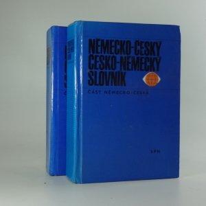 náhled knihy - Německo-český a česko-německý slovník (1. a 2. svazek)