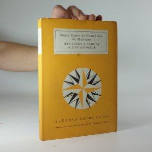 náhled knihy - Hra lásky a náhody a jiné komedie