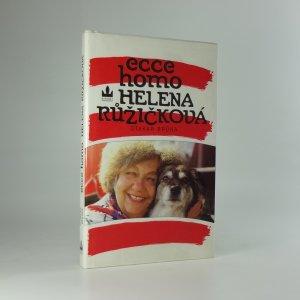 náhled knihy - Ecce homo Helena Růžičková