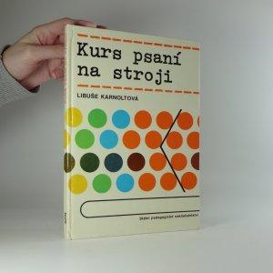 náhled knihy - Kurs psaní na stroji
