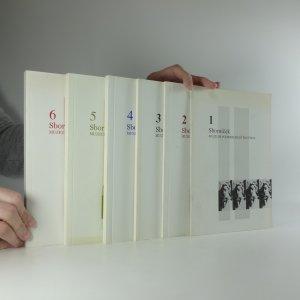 náhled knihy - Sborníček : příspěvky Muzea Podkrkonoší Trutnov (I.-VI.)