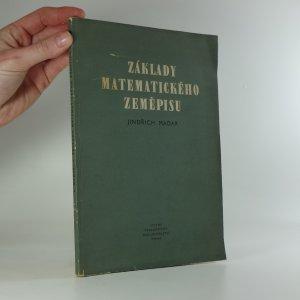 náhled knihy - Základy matematického zeměpisu (pro vyšší školy pedagogické)