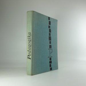 náhled knihy - Pedagogika : příručka pro vys. školy