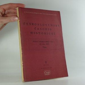 náhled knihy - Československý časopis historický: Přehled československých dějin I. (do roku 1848), Příloha 2, ročník II, 1954