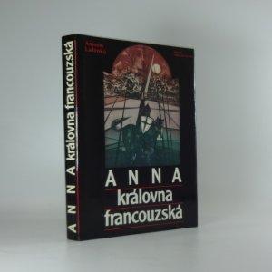 náhled knihy - Anna královna francouzská