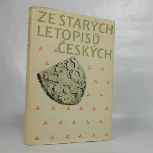 náhled knihy - Ze starých letopisů českých