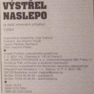 antikvární kniha Krimi signál ... a další kriminální příběhy (8 sv.), 2003-2006