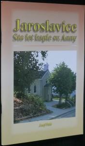 náhled knihy - Jaroslavice stole let kaple sv. Anny