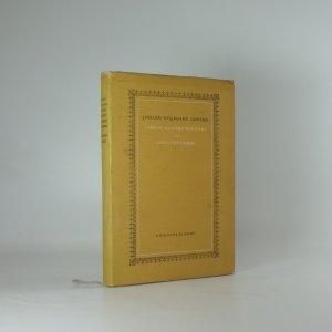 náhled knihy - Utrpení mladého Werthera a Spříznění volbou