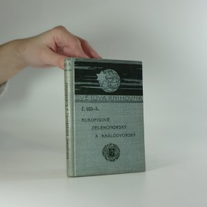 náhled knihy - Rukopisové zelenohorský a královedvorský