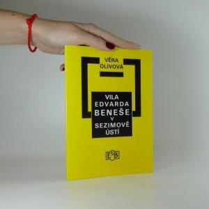 náhled knihy - Vila Edvarda Beneše v Sezimově Ústí