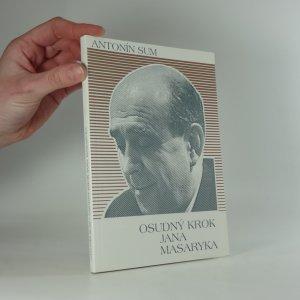 náhled knihy - Osudný krok Jana Masaryka