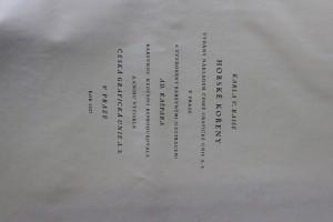 antikvární kniha Horské kořeny, 1927