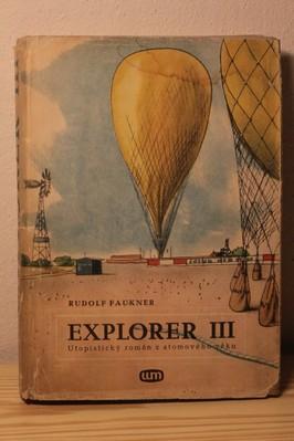 náhled knihy - Explorer III : Utopistický román z atomového věku