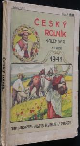 náhled knihy - Český rolník - kalendář na rok 1941 - r. 21