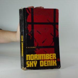 náhled knihy - Norimberský deník