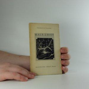 náhled knihy - Malá závěť