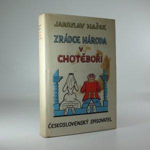 náhled knihy - Zrádce národa v Chotěboři
