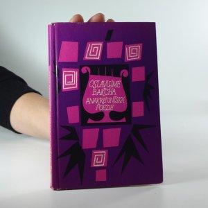 náhled knihy - Oslavujme Bakcha: Anakreontská poezie