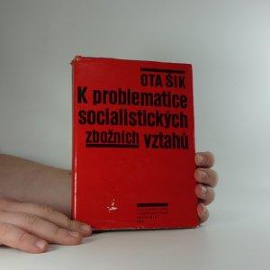 náhled knihy - K problematice socialistických zbožních vztahů