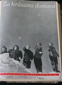 antikvární kniha Za krásami domova (r. 4., č. 1. - 12.), 1958