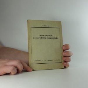 náhled knihy - První uvedení do národního hospodářství