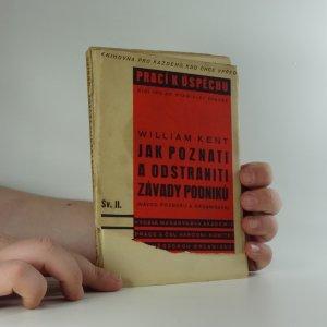 náhled knihy - Jak poznati a odstraniti závady podniků : návod rozboru a organisace