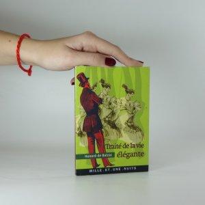 náhled knihy - Traité de la vie élégante