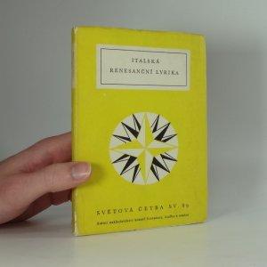 náhled knihy - Italská renesanční lyrika antologie