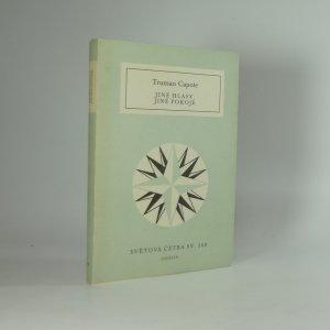 náhled knihy - Jiné hlasy, jiné pokoje