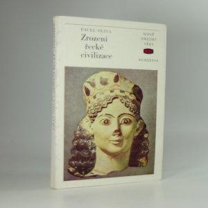 náhled knihy - Zrození řecké civilizace
