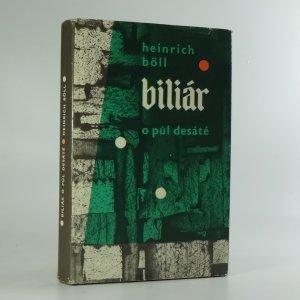 náhled knihy - Biliár o půl desáté