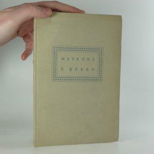 náhled knihy - Matrona z Efezu : 10 rytých listů Václava Hollara z roku 1665