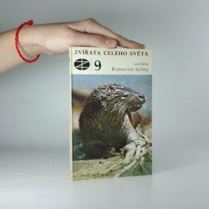 náhled knihy - Kunovité šelmy (Zvířata celého světa 9.)