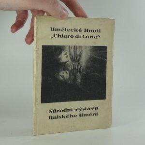 """náhled knihy - Umělecké Hnutí """"Chiaro di Luna"""