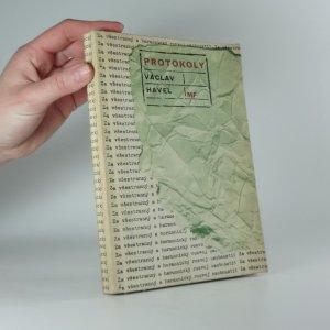náhled knihy - Protokoly