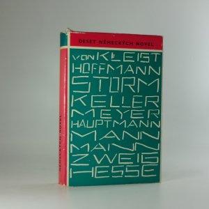 náhled knihy - Deset německých novel