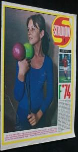 náhled knihy - Stadión 1, ročník 23, 7. ledna 1975