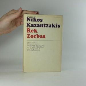 náhled knihy - Řek Zorbas