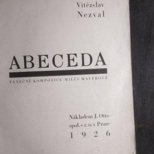 antikvární kniha Abeceda. Taneční kompozice Milči Majerové., 1926